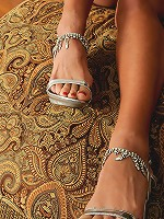 Busty 51 year old Persia from AllOver30 showing off her sexy feet