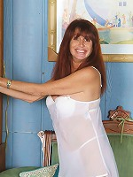 49 year old Kayla L from AllOver30 spreading her mature long legs