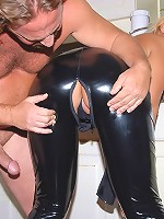 Hot fucking big tits milf gets her latex cat outfit fucked hard in this hot fucking ass cumfaced picset